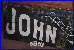 John Deere reproduction vintage wood sign 12 x 48