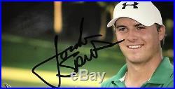 Jordan Spieth 2013 John Deere Classic Signed 8x10 Photo Full Signature PSA COA