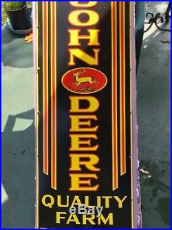 Large 52 John Deere sign