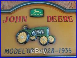 NEW John Deere Sign, 3D Wood Sign, John Deere Home Decor, John Deere Sign LARGE