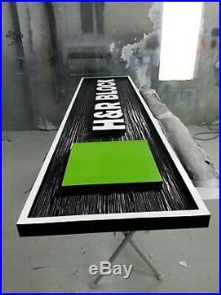 Professional High Quality Custom Three-Dimensional Textured Sign