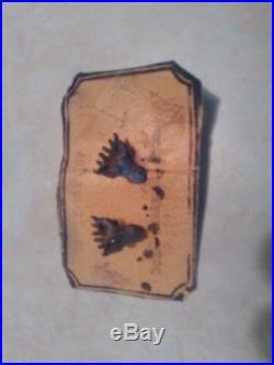 Rare Antique John Deere, Deer Head Cuff Links On Original Card