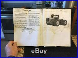 Rare John Deere 9120, 9220, 9320, 9420 & 9520Tractors Operator Manual OMAR183678
