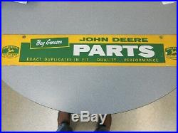 Rare Old Original John Dealer Parts Dealer Sign