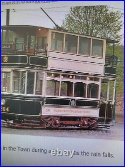 Sheffield cityTramway RARE TAKEN FROM TRAM TRAMS 1947 TO 57 LOGO 16X15 HISTORIC