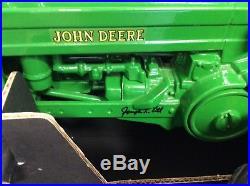 Signed ERTL John Deere 1939 Model B Tractor DieCast 18 Scale Models New in Box