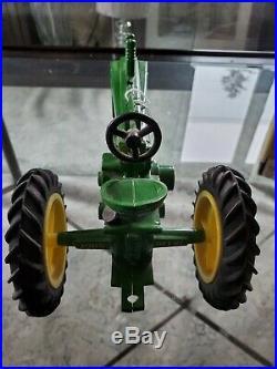 Signed Joe Ertl John John Deere diecast Beckman high school tractor. #1181