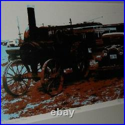 Steam Tractor Art. Wonderful artwork by local Oregon Artist
