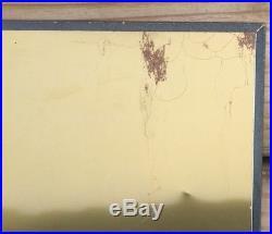 VINTAGE JOHN DEERE LOGO HISTORY METAL TIN SIGN 1800/1900s 50s 30s 60s Wall Decor