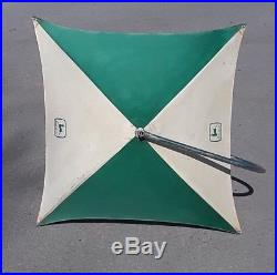 VINTAGE JOHN DEERE TRACTOR RARE UMBRELLA STORE DISPLAY SIGN 40 With 6' POLE