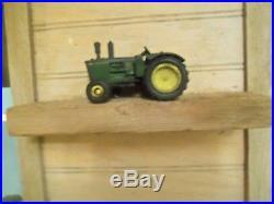 VTG JOHN DEERE Farm Machinery Advertising Tractor SIGN Rain Gauge Recorder