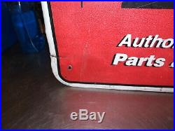 Very RARE Homelite/John Deere Co. Authorized Dealer Sign, take a look