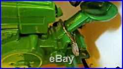 Vintage 1989 Die-cast John Deere Model A Tractor Beckman High Signed & No