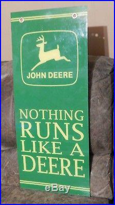 Vintage John Deere Acrylic Sign