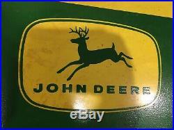 Vintage John Deere Fertilizer Sign
