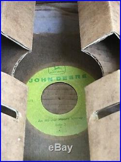 Vintage John Deere, Four Legged, Vintage Logo, Vintage Vinyl Record, Rare Deere
