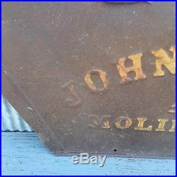 Vintage John Deere Implement Part Piece New John Deere Advertising Man Cave