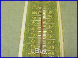 Vintage John Deere Quality Farm Equipment 27 Thermometer Metal Sign (taylor)