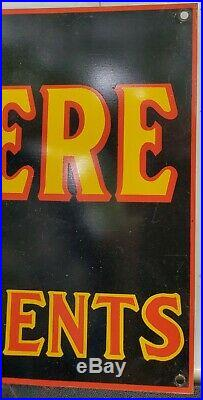 Vintage John Deere Quality farm Implements Sign