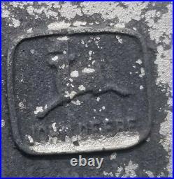 Vintage John Deere Weather Vane 1960's Advertising Sign Part Cast Aluminum