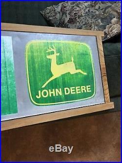 Vintage Metal 1970's Entrance Sign John Deere Dealership