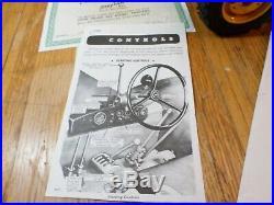 Vintage Stephan Custom John Deere 830 Diesel Tractor Only 500 Made Signed 10LBS