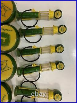 Vtg John Deere Signs Plastic Mini Christmas Light Covers Lot Of 59 Moline, Ill
