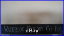 Waterloo Foundry Co. Inc. Cast Aluminum Sign